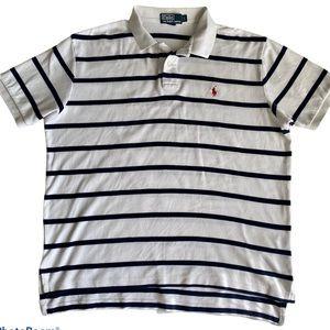 Polo Ralph Lauren Men Striped Polo Shirt L